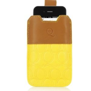 McQ iPhone 4 leather pouch